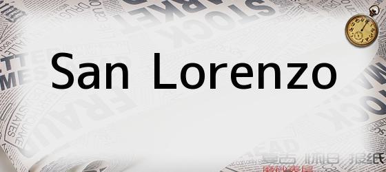 <i>SAN LORENZO</i>