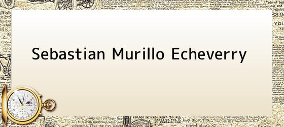 Sebastian Murillo Echeverry