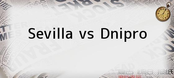 Sevilla vs Dnipro