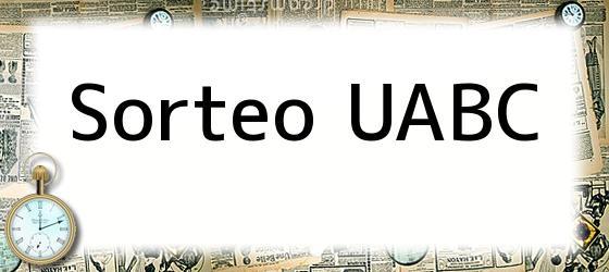 Sorteo Uabc