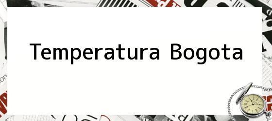 Temperatura Bogota