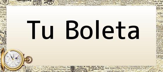Tu Boleta