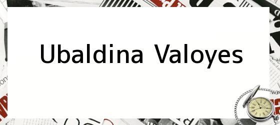 Ubaldina Valoyes