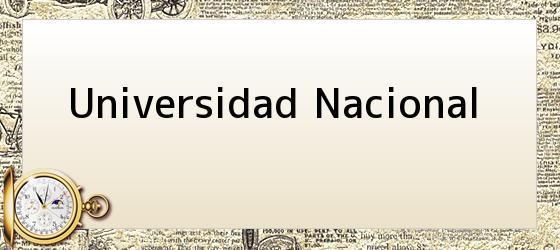 Universidad Nacional