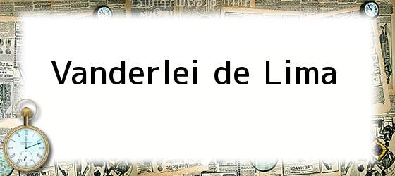 Vanderlei de Lima