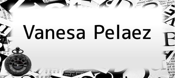 Vanesa Pelaez