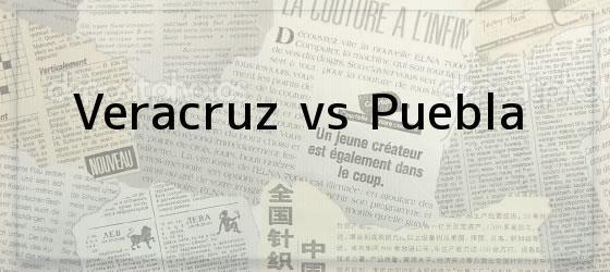 Veracruz vs Puebla