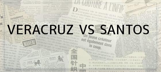 Veracruz vs Santos