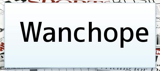 Wanchope