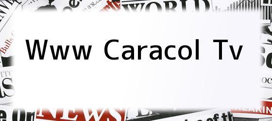 Www Caracol Tv
