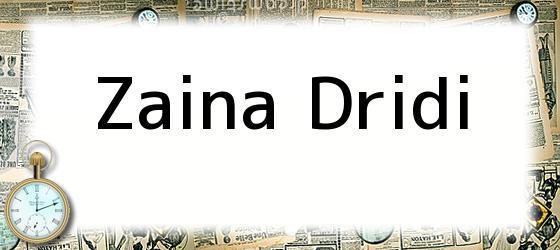 Zaina Dridi
