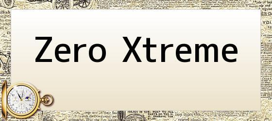 Zero Xtreme