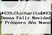 &#039;Chicharito&#039; Desea <b>Feliz Navidad</b> Y Próspero Año Nuevo