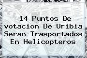 14 Puntos De <b>votacion</b> De Uribia Seran Trasportados En Helicopteros