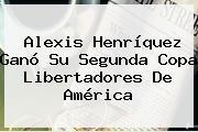 <b>Alexis Henríquez</b> Ganó Su Segunda Copa Libertadores De América