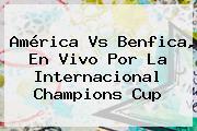 <b>América Vs Benfica</b>, En Vivo Por La Internacional Champions Cup