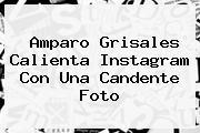 <b>Amparo Grisales</b> Calienta Instagram Con Una Candente Foto