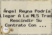 <b>Ángel Reyna</b> Podría Llegar A La MLS Tras Rescindir Su Contrato Con <b>...</b>