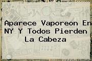 Aparece <b>Vaporeon</b> En NY Y Todos Pierden La Cabeza