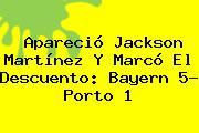 Apareció Jackson Martínez Y Marcó El Descuento: <b>Bayern</b> 5- <b>Porto</b> 1