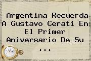 Argentina Recuerda A <b>Gustavo Cerati</b> En El Primer Aniversario De Su <b>...</b>