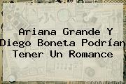 Ariana Grande Y <b>Diego Boneta</b> Podrían Tener Un Romance