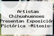 Artistas Chihuahuenses Presentan Exposición Pictórica ?<b>Mitosis</b>?