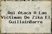<b>Asi Ataca A Las Victimas De Zika El GuillainBarre</b>