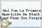 Así Fue La Primera Aparición De <b>Black Eyed Peas</b> Sin Fergie