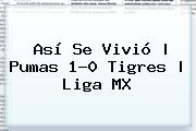 Así Se Vivió | <b>Pumas</b> 1-0 <b>Tigres</b> |<b> Liga MX