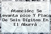 Atención: Se Levanta <b>pico Y Placa</b> De Seis Dígitos En El Aburrá
