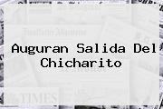Auguran Salida Del <b>Chicharito</b>