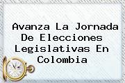 <i>Avanza La Jornada De Elecciones Legislativas En Colombia</i>