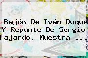 Bajón De Iván Duque Y Repunte De <b>Sergio Fajardo</b>, Muestra ...