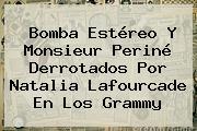 Bomba Estéreo Y Monsieur <b>Periné</b> Derrotados Por Natalia Lafourcade En Los Grammy