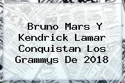 Bruno Mars Y Kendrick Lamar Conquistan Los <b>Grammys</b> De <b>2018</b>