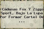 Cadenas Fox Y Ziggo <b>Sport</b>, Bajo La Lupa Por Formar Cartel De ...