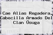 Cae Alias Regadera, Cabecilla Armado Del Clan Úsuga