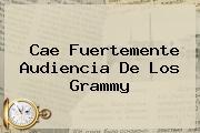 Cae Fuertemente Audiencia De Los <b>Grammy</b>