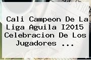 <b>Cali Campeon</b> De La Liga Aguila I2015 Celebracion De Los Jugadores <b>...</b>