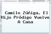 <b>Camilo Zúñiga</b>, El Hijo Pródigo Vuelve A Casa