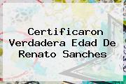 Certificaron Verdadera Edad De <b>Renato Sanches</b>
