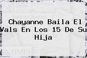 <b>Chayanne</b> Baila El Vals En Los 15 De Su Hija