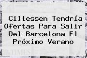 Cillessen Tendría Ofertas Para Salir Del Barcelona El Próximo Verano