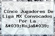 Cinco Jugadores De Liga MX Convocados Por La 'Roja'