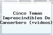 Cinco Temas Imprescindibles De <b>Canserbero</b> (+videos)