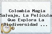 <b>Colombia</b> Magia Salvaje, La Película Que Explora La Biodiversidad <b>...</b>