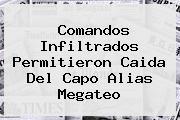 Comandos Infiltrados Permitieron Caida Del Capo Alias <b>Megateo</b>