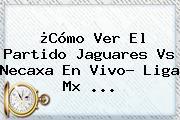 ¿Cómo Ver El Partido <b>Jaguares Vs Necaxa</b> En Vivo? Liga Mx ...