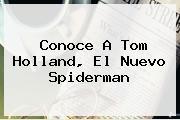 Conoce A <b>Tom Holland</b>, El Nuevo Spiderman